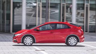 Honda Civic 1.8 i-VTEC Sport, Seitenansicht