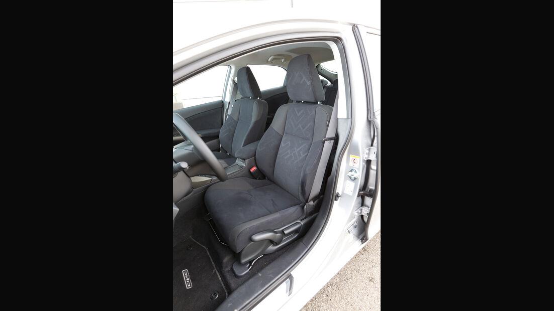 Honda Civic 2.2 i-DTEC, Fahrersitz