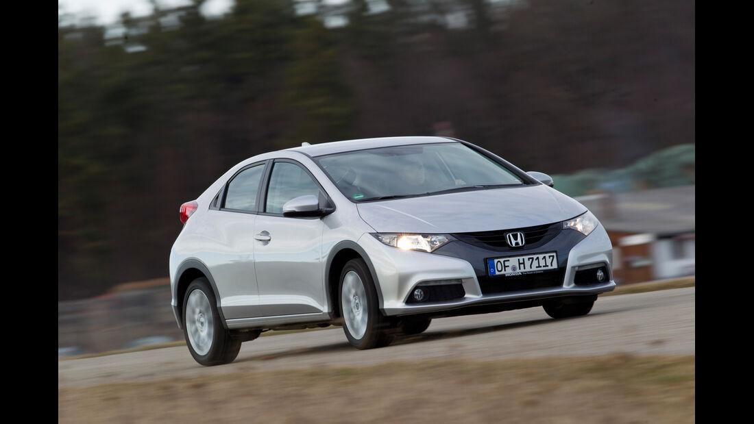 Honda Civic 2.2 i-DTEC, Frontansicht