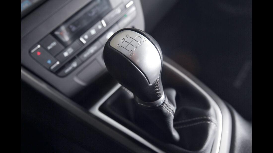 Honda Civic 2.2i-DTEC, Schalthebel, Schaltknauf