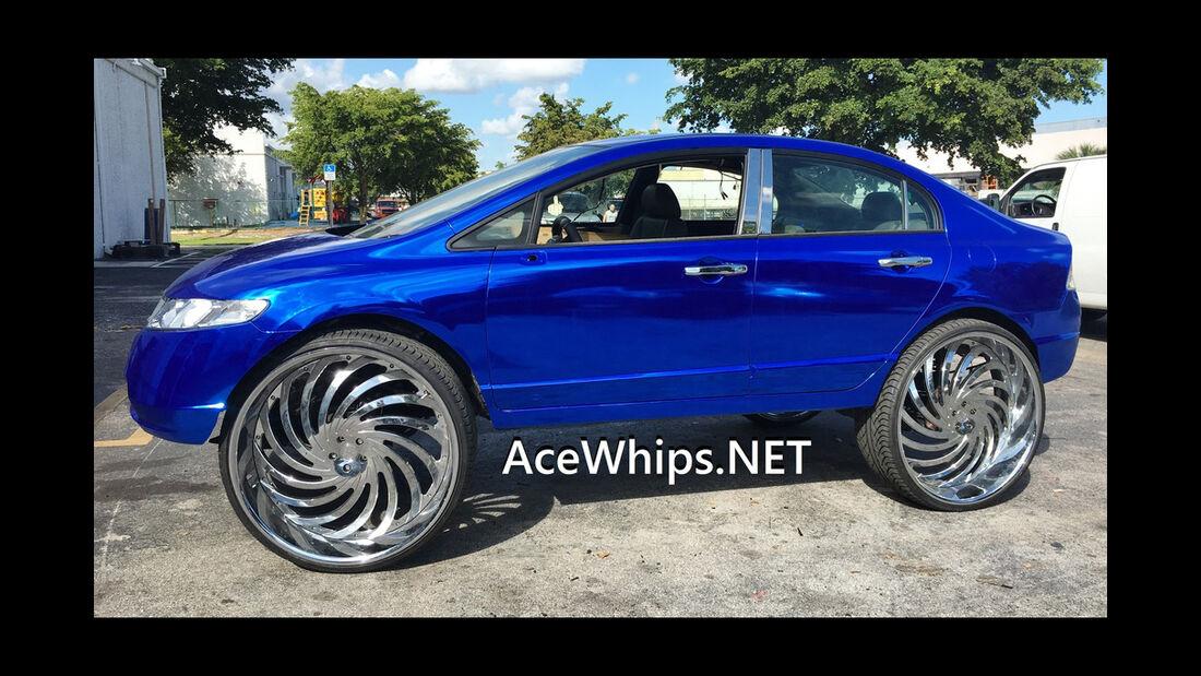 Honda Civic - 30 Zoll Felgen - Acewhips