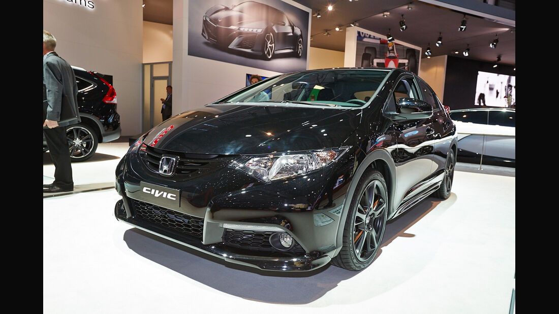 Honda Civic Black Edition, Genfer Autosalon, Messe, 2014