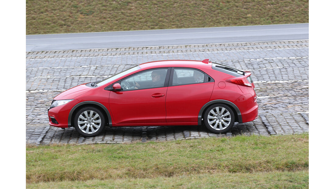Honda Civic, Bodenwellen, Fahrwerk