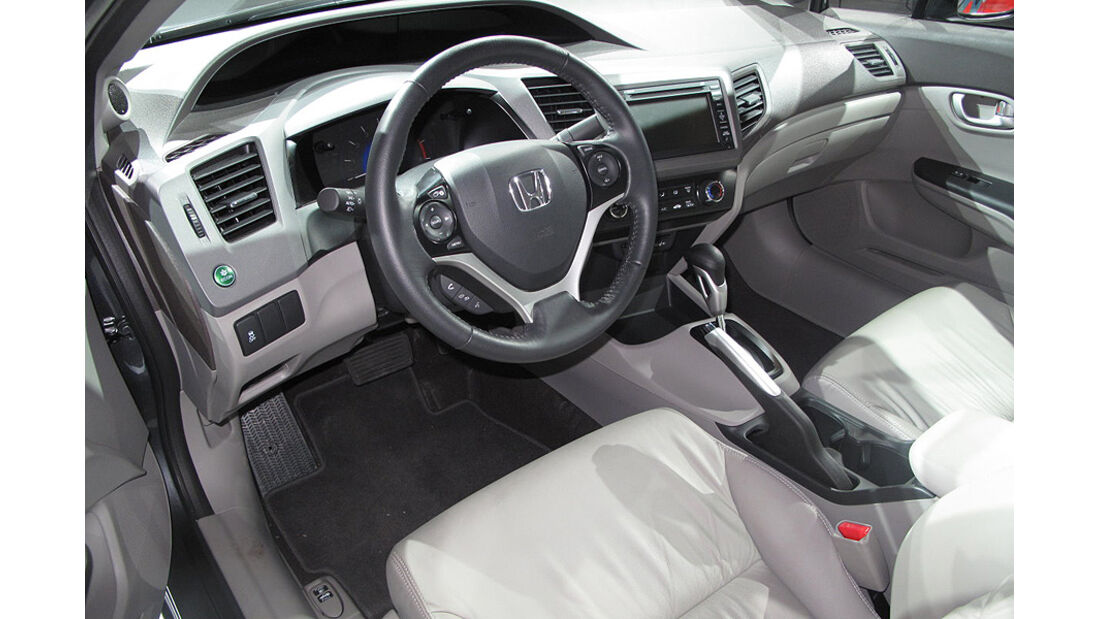 Honda Civic, Cockpit