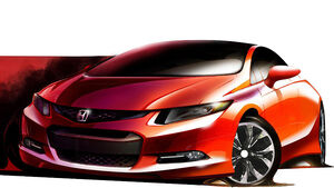 Honda Civic Concept Detroit 2011