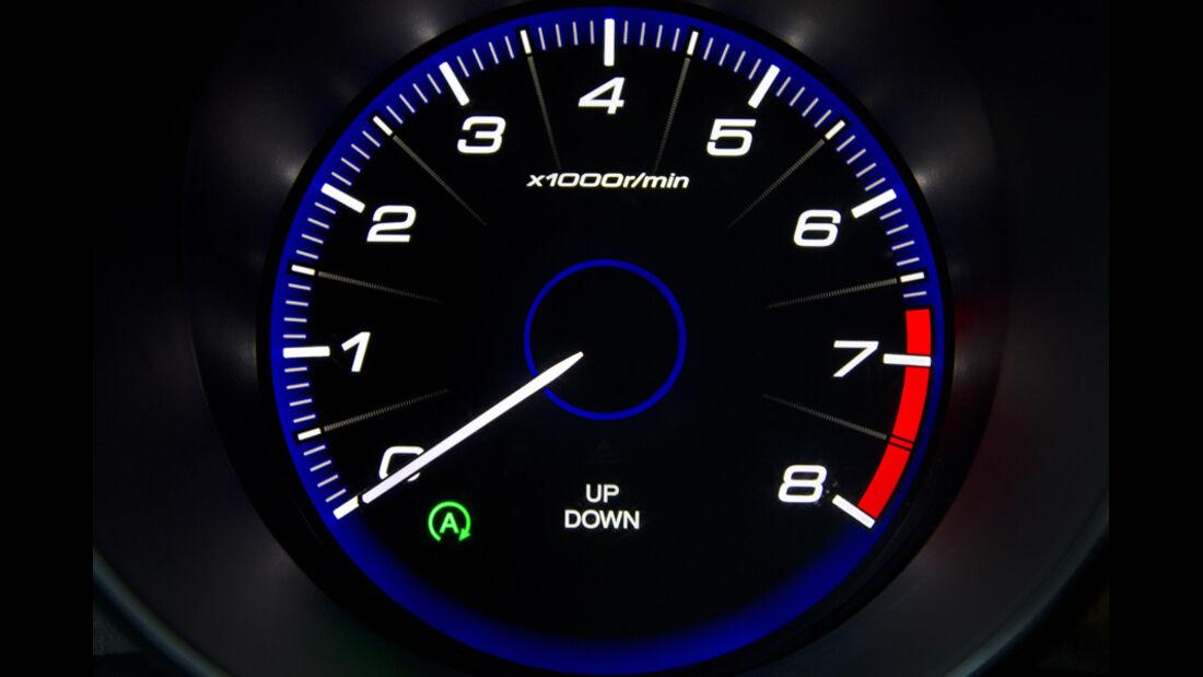 Honda Civic, Drehzahlmesser, Rundinstrument