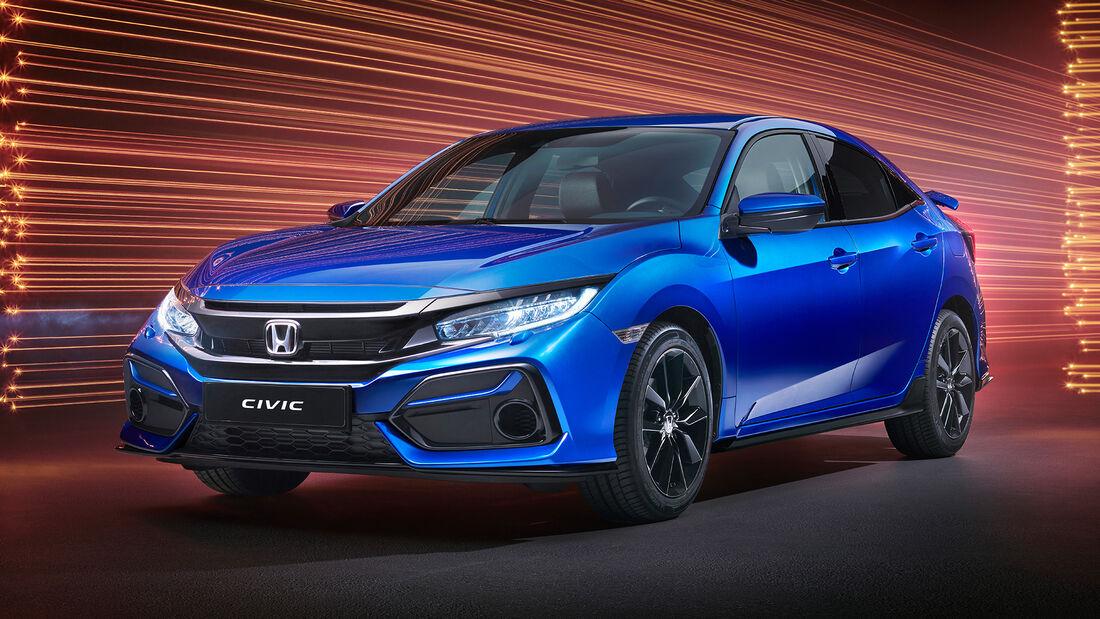 Honda Civic Hatchback, Exterieur