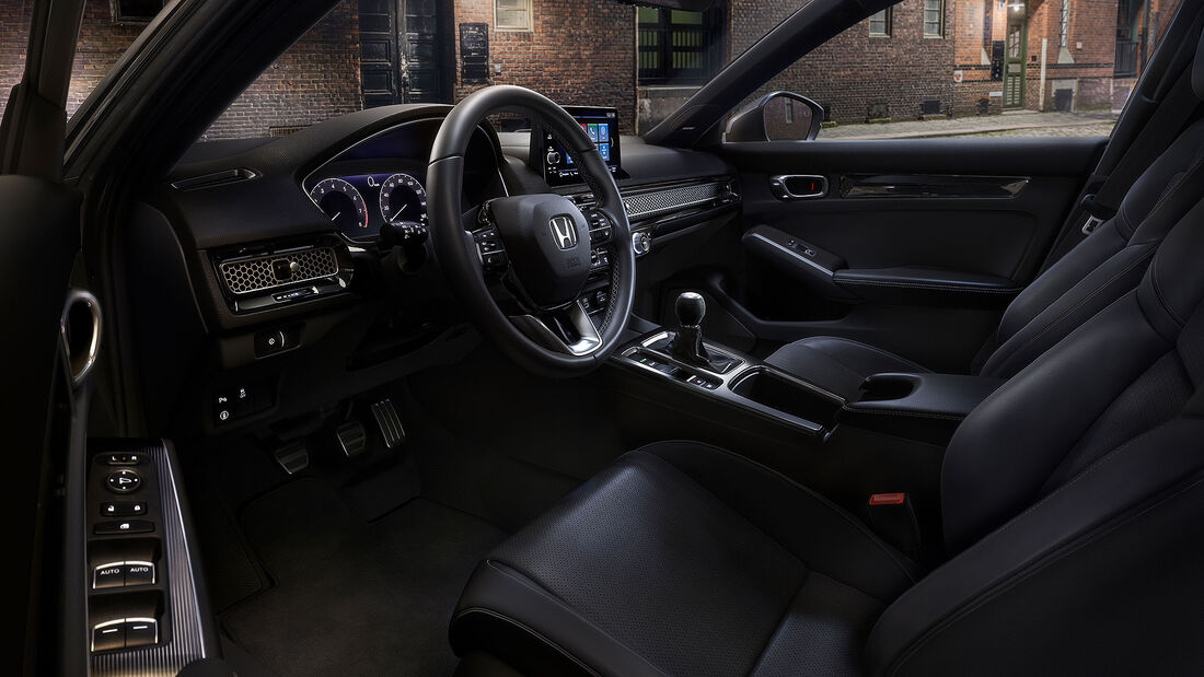 Honda Civic Hatchback Steilheck