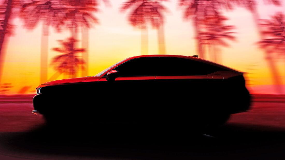 Honda Civic Hatchback Steilheck Teaser