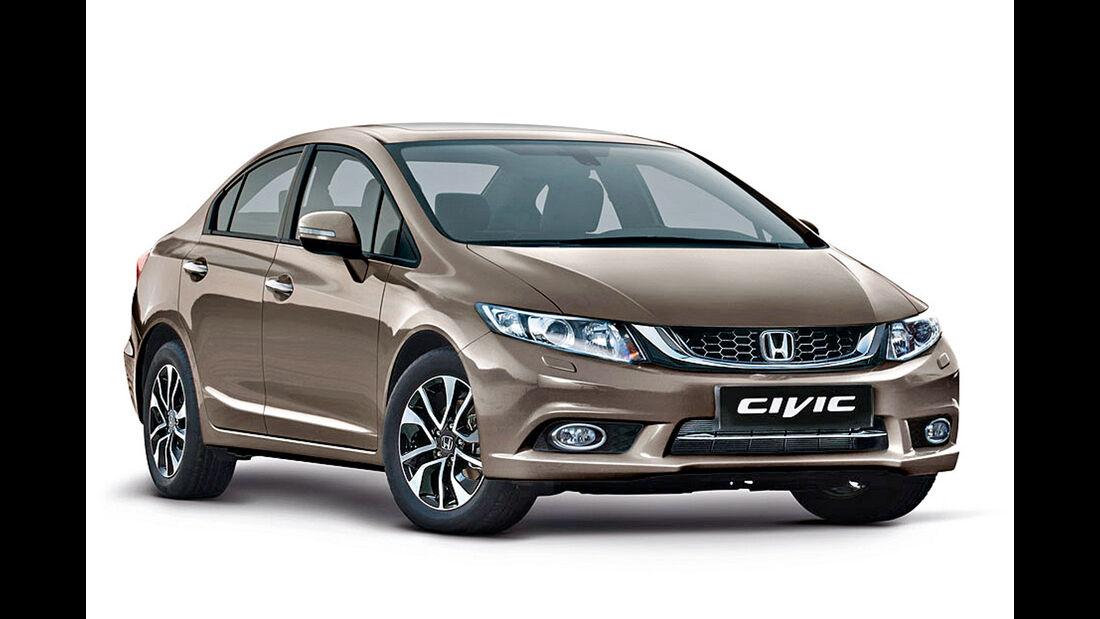 Honda Civic Limousine, Frontansicht