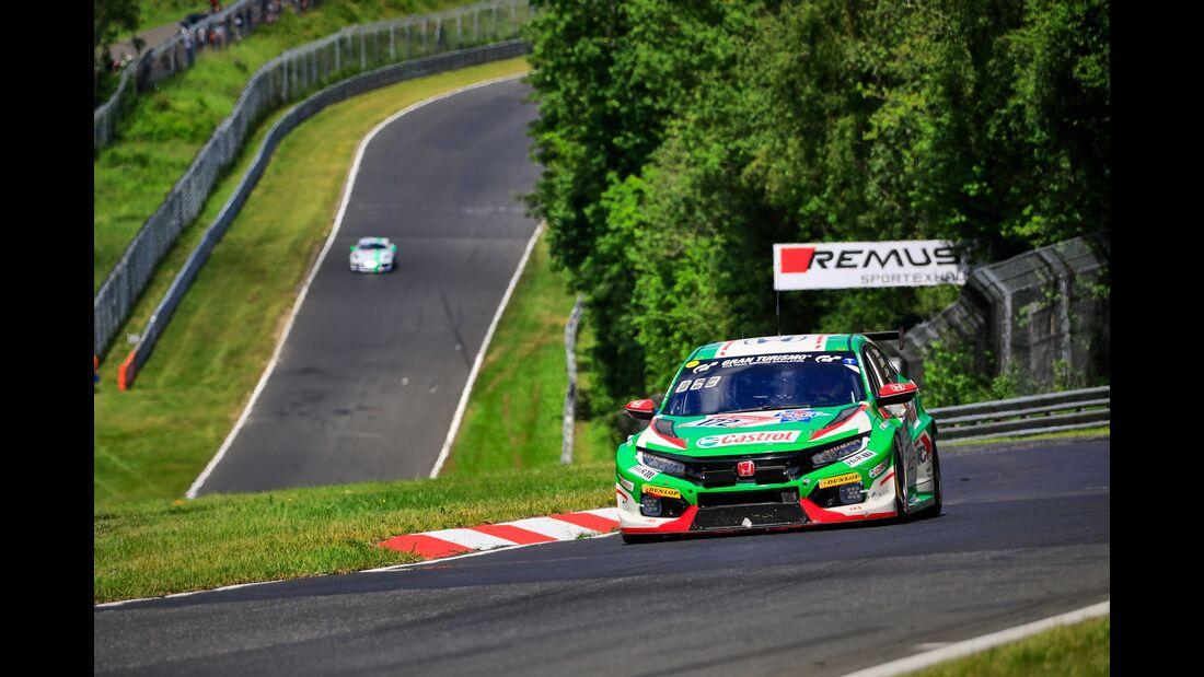 Honda Civic - Startnummer # 172 - 24h Rennen Nürburgring - 21. Juni 2019