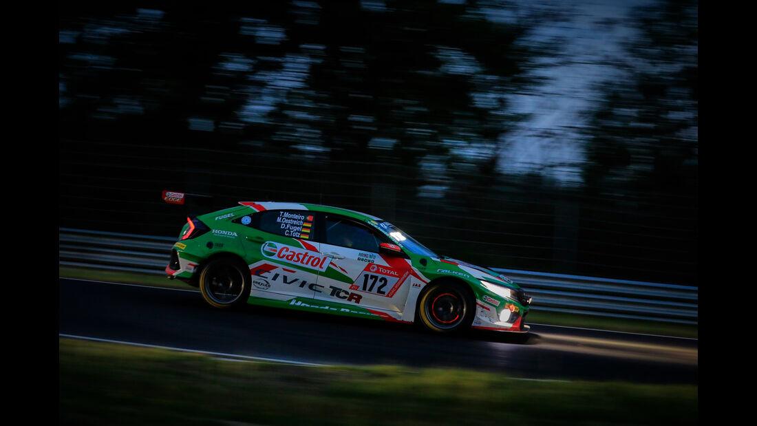 Honda Civic - Startnummer #172 - 24h Rennen Nürburgring - 22. Juni 2019
