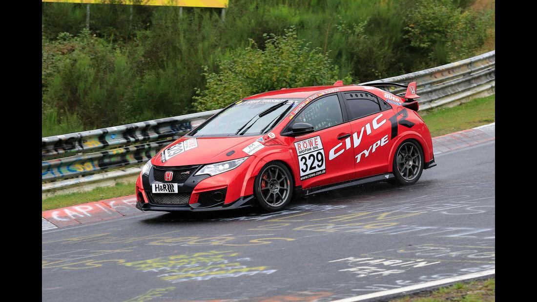 Honda Civic - Startnummer #329 - SP3T - VLN 2019 - Langstreckenmeisterschaft - Nürburgring - Nordschleife