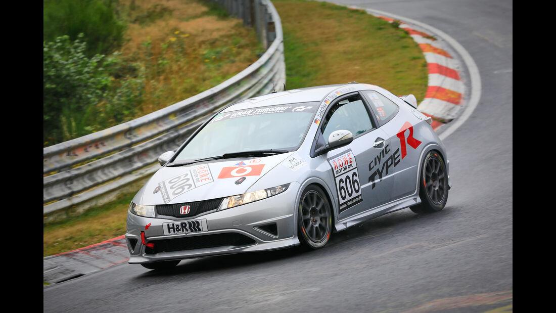 Honda Civic - Startnummer #606 - MSC Münster e.V. DMV - H2 - VLN 2019 - Langstreckenmeisterschaft - Nürburgring - Nordschleife