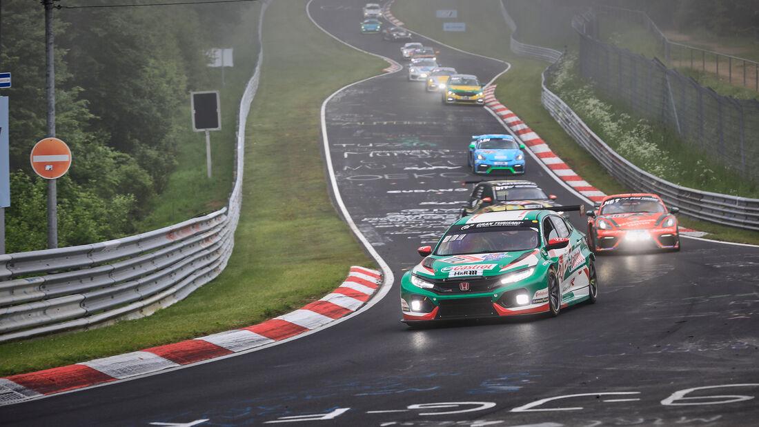 Honda Civic TCR - Autohaus Fugel - Startnummer #172 - 24h-Rennen Nürburgring - Nürburgring-Nordschleife - 6. Juni 2021