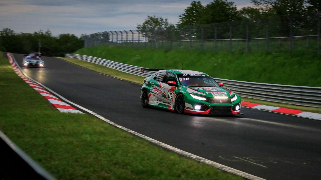 Honda Civic TCR - Autohaus M. Fugel e.K - Startnummer #172 - Klasse: TCR - 24h-Rennen - Nürburgring - Nordschleife - 03. - 06. Juni 2021