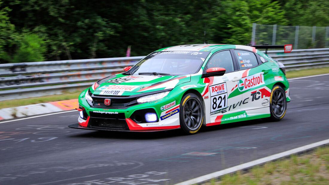 Honda Civic TCR - Startnummer #821 - ADAC Sachsen e.V. - TCR Pro - NLS 2020 - Langstreckenmeisterschaft - Nürburgring - Nordschleife