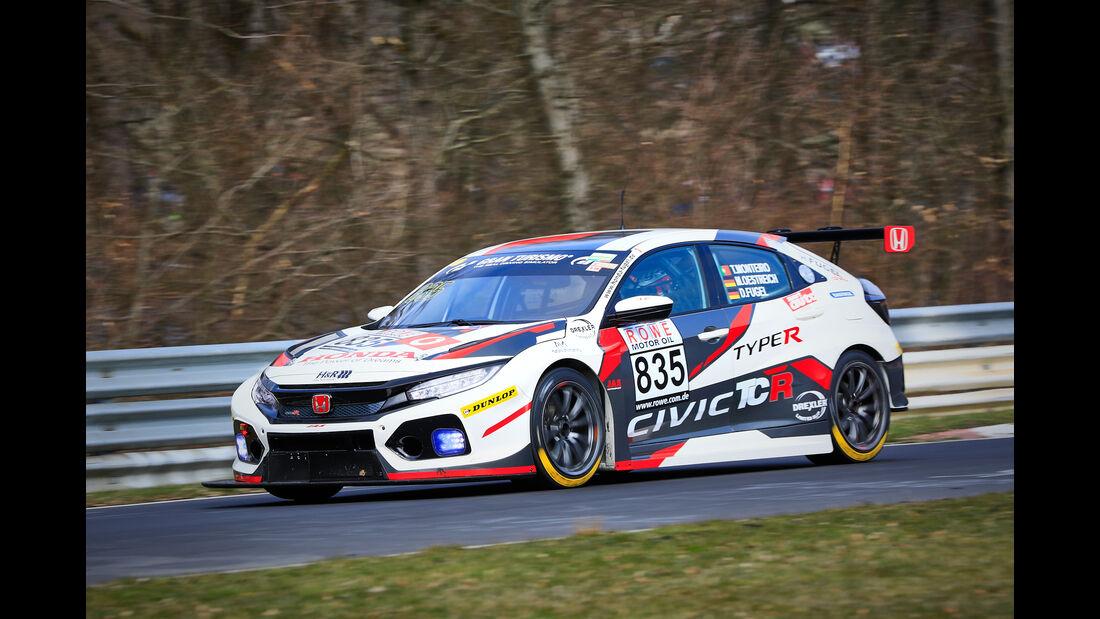 Honda Civic TCR - Startnummer #835 - Autohaus Markus Fugel e.K. - TCR - VLN 2019 - Langstreckenmeisterschaft - Nürburgring - Nordschleife