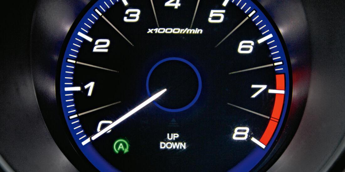 Honda Civic, Tacho, Rundinstrument