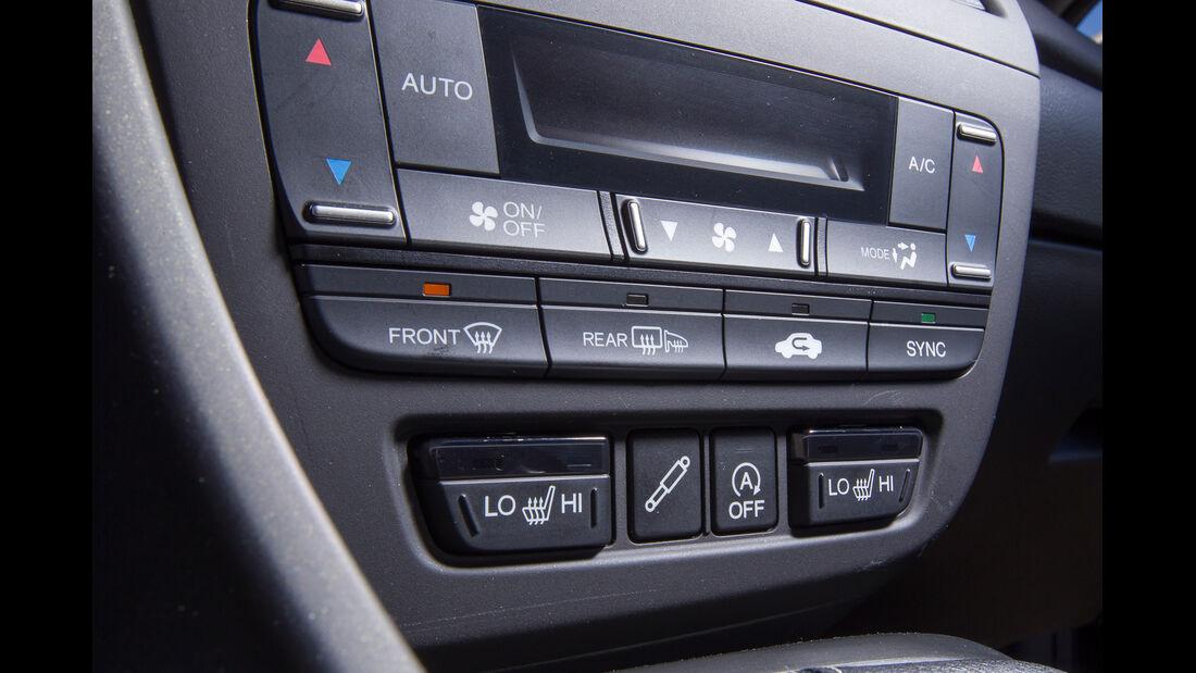 Honda Civic Tourer 1.6 i-DTEC, Mittelkonsole
