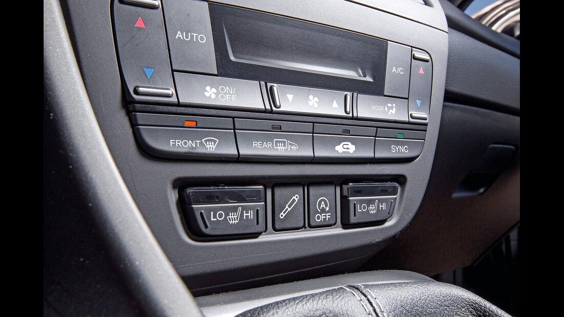 Honda Civic Tourer 1.6 i-DTEC, Mittelkonsole, Bedienelemente