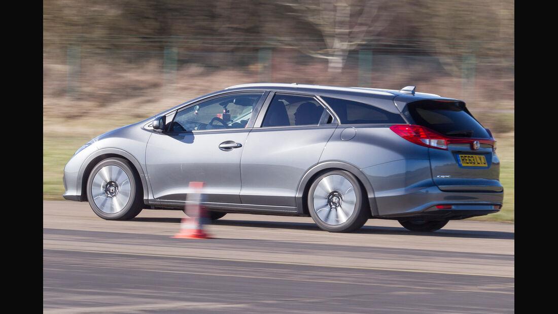 Honda Civic Tourer 1.6 i-DTEC, Seitenansicht