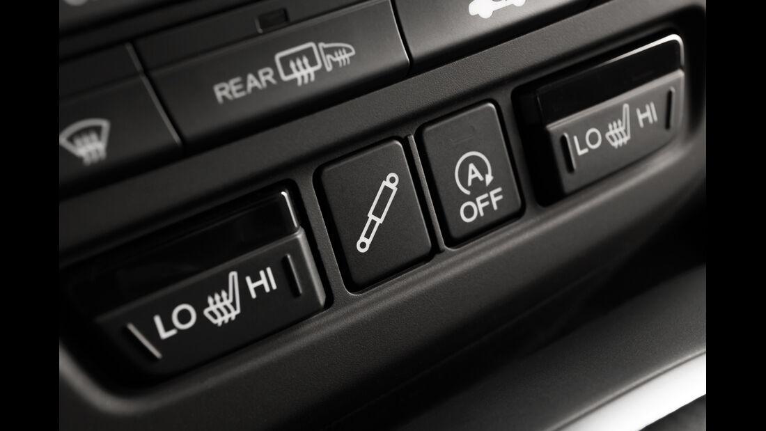Honda Civic Tourer, Bedienelemente, Sitzheiznung