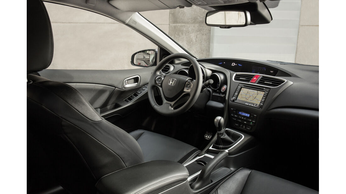 Honda Civic Tourer, Cockpit