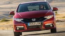 Honda Civic Tourer, Frontansicht