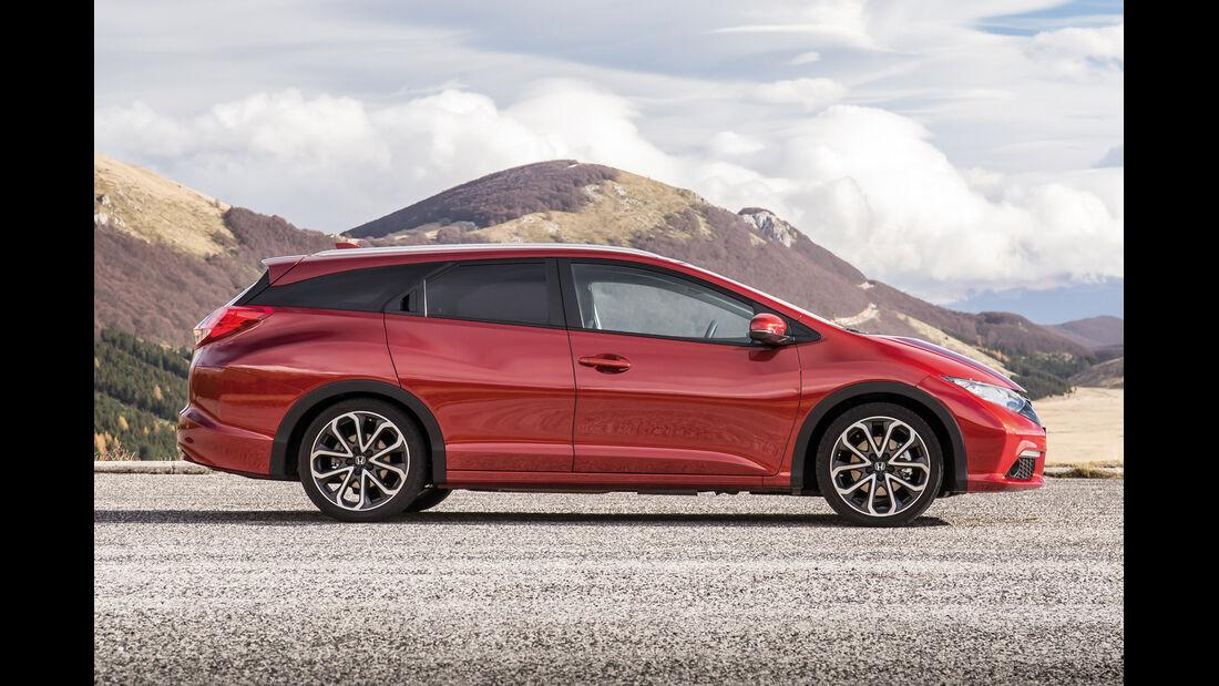 Honda Civic Tourer, Seitenansicht