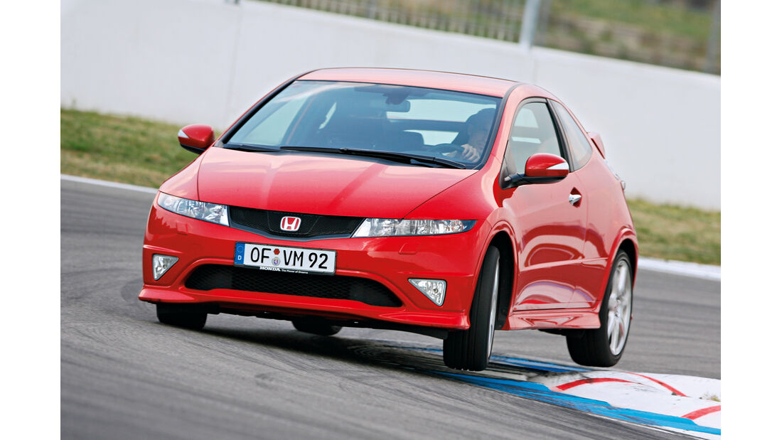 Honda Civic Typ R, Frontansicht