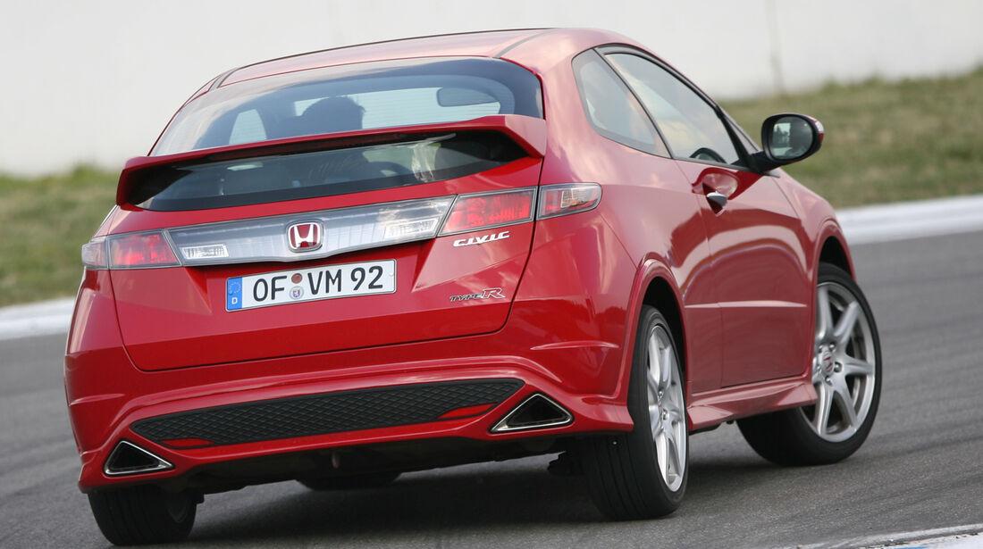 Honda Civic Typ R, Heckansicht