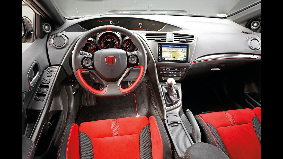 Honda Civic Type R, Cockpit
