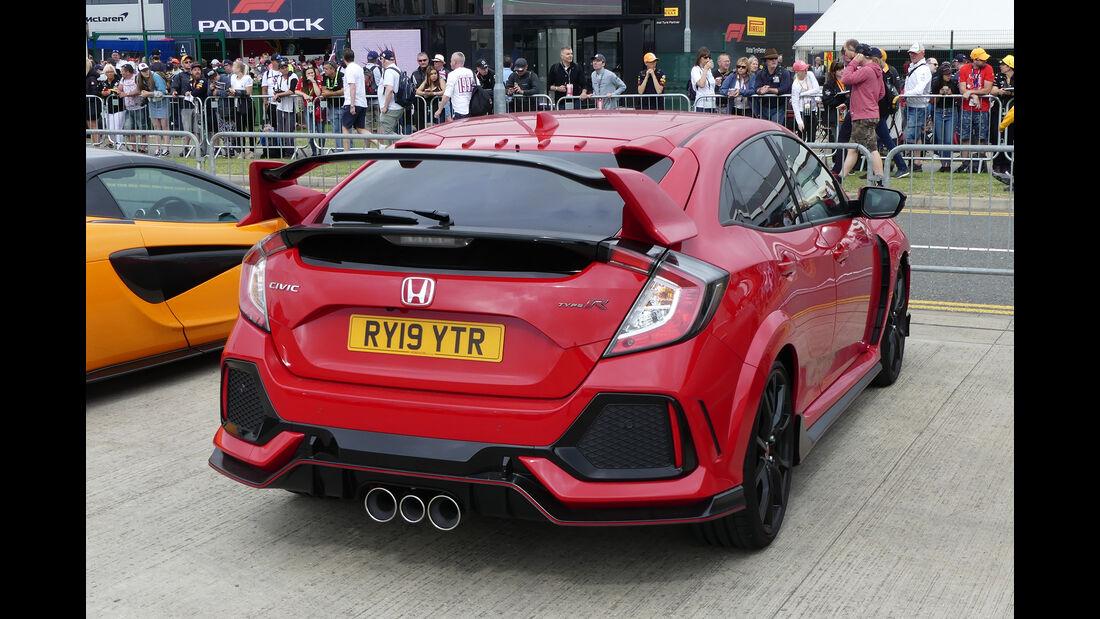 Honda Civic Type R - Dienstwagen - F1-Piloten 2019