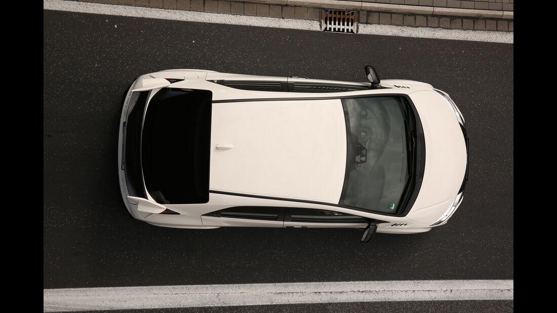 Honda Civic Type R, Draufsicht
