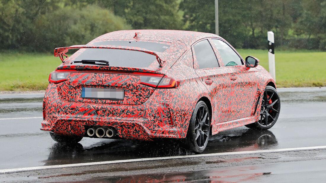 Honda Civic Type R Erlkönig