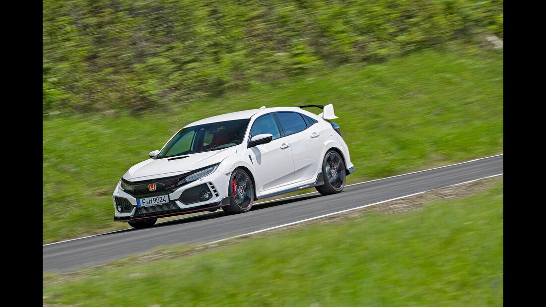 Honda Civic Type R, Exterieur