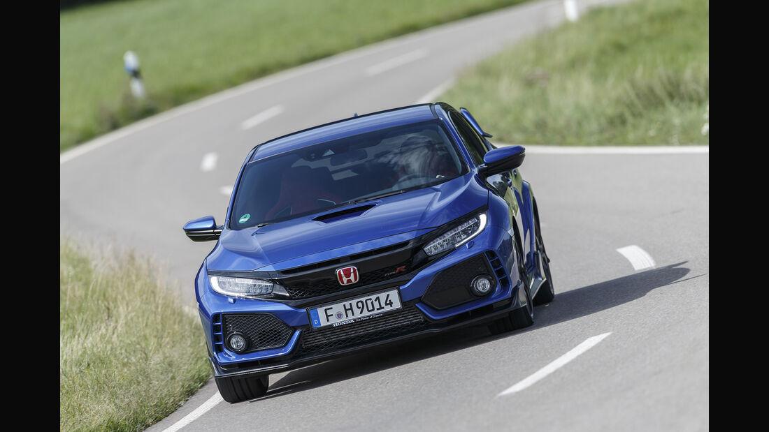 Honda Civic Type R, Exterieur Front