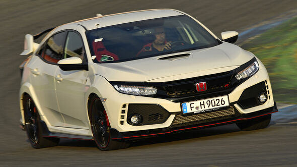 Honda Civic Type R, Exterieur