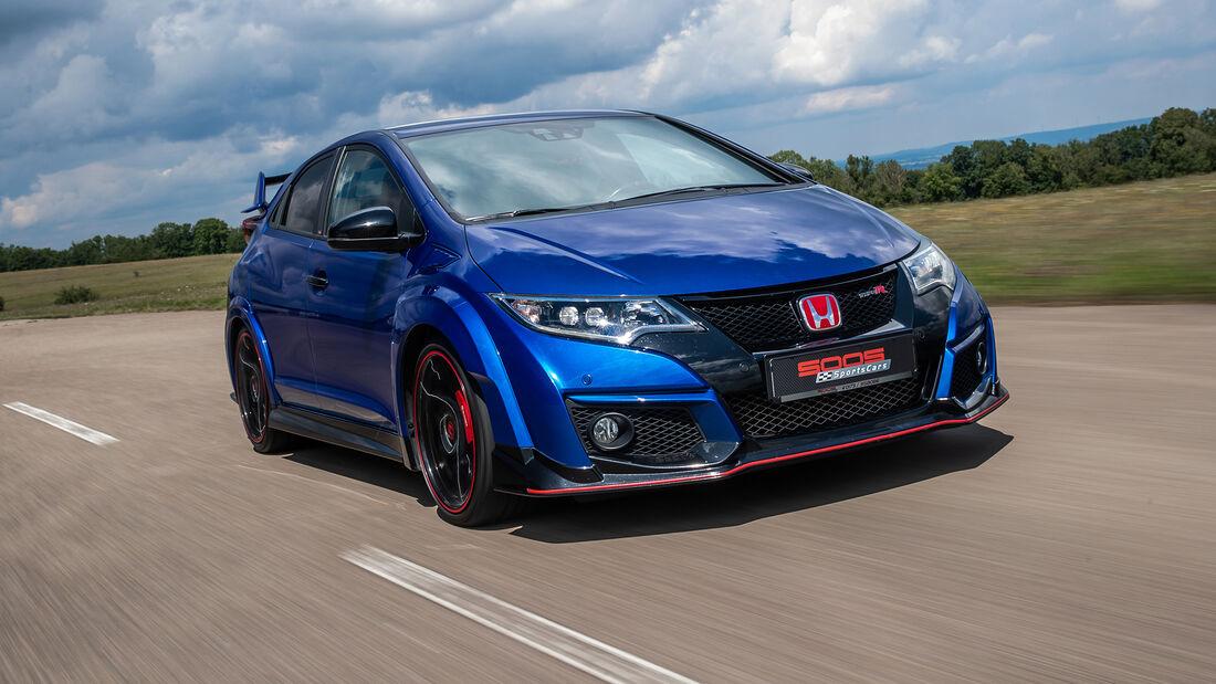 Honda Civic Type R FK2, Exterieur