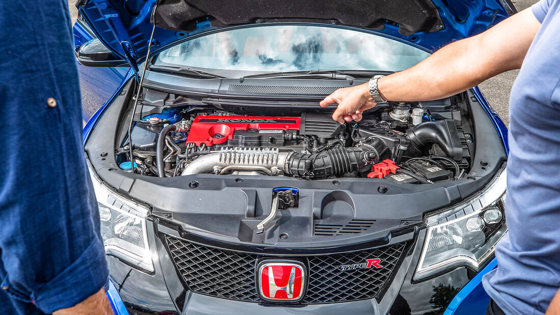Honda Civic Type R FK2, Motor