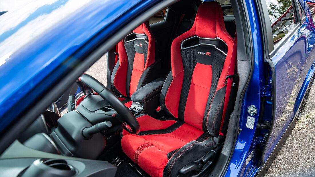 Honda Civic Type R FK2, Sitze