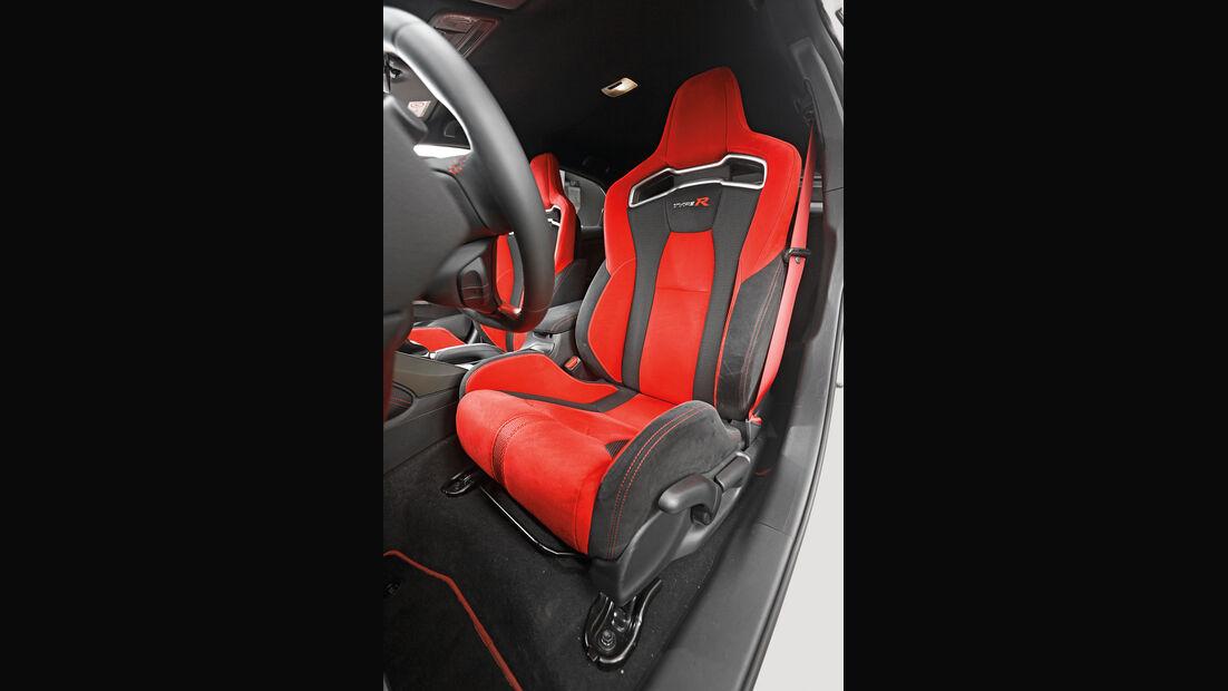 Honda Civic Type R, Fahrersitz