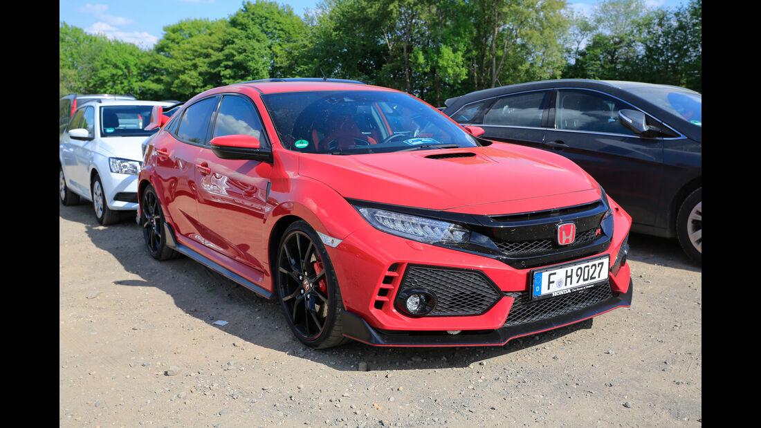 Honda Civic Type R - Fan-Autos - 24h-Rennen Nürburgring 2018 - Nordschleife