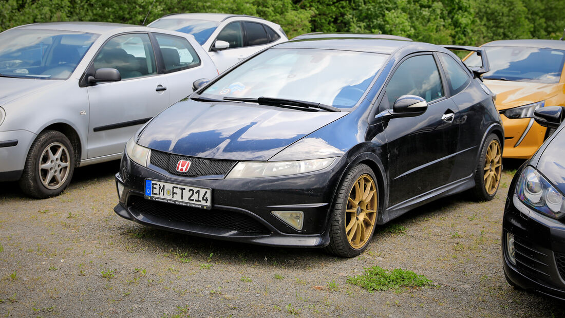 Honda Civic Type R - Fanautos - 24h Rennen Nürburgring - Nürburgring-Nordschleife - 4. Juni 2021