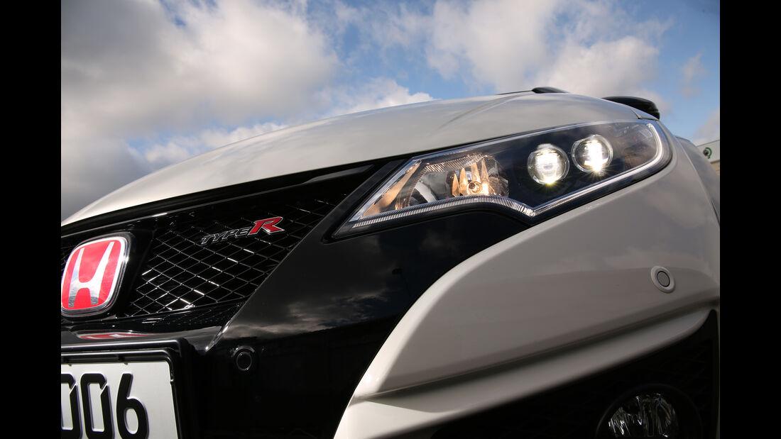 Honda Civic Type R, Frontscheinwerfer