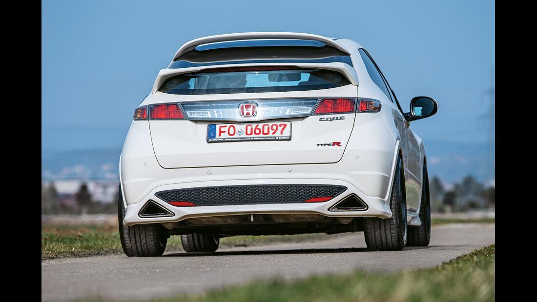 Honda Civic Type R, Heckansicht