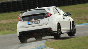 Honda Civic Type R, Heckansicht