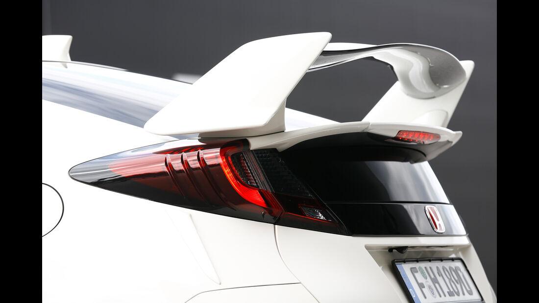 Honda Civic Type R, Heckflügel