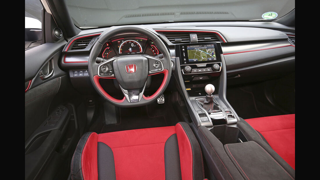 Honda Civic Type R, Interieur